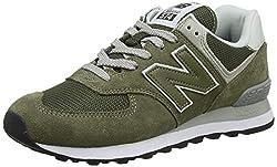 New Balance Herren 574v2 Core Sneaker, Grün (Olive), 43 EU