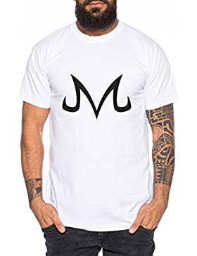 Majin Sign from Boo Dragonball Men T-Shirt Nerd in different colors