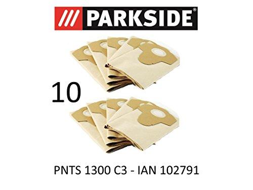 10Sacs d'aspirateur Parkside - 20 L PNTS 1300-...