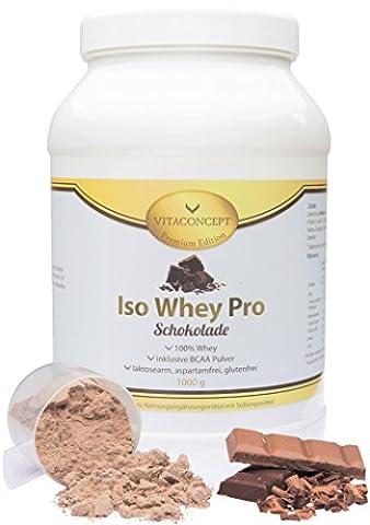 ISO WHEY Pro * Schokolade * 1000g - PROTEIN *