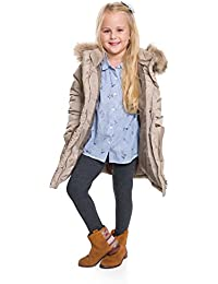 6a398d42d237f7 hi!mom Winter Girls Leggings Extra Warm Soft Cotton Kids Pants CHILD28