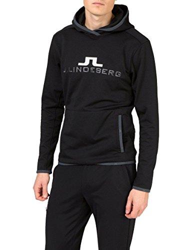 herren-pullover-mit-kapuze-hoodie-logo-hood-tech-jersey-xl-schwarz