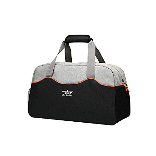 camphiking Fitness Sport Tasche von hoher Kapazität mit Schuhen Fach Wasserdicht klein Duffle Reisetasche für Damen und Herren