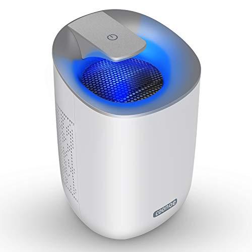 Deumidificatore portatile coonoe deumidificatori elettrico mini 600ml silenzioso basso consumob 300ml/24h per ambiente casa armadio camera da letto ripostiglio bagno cucina