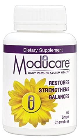 Moducare, Daily Immune System Health, 120 Grape Chewables by Wakunaga - Kyolic