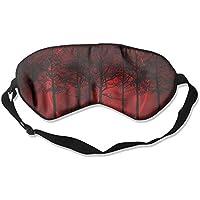 Red Moon Trees Sleep Eyes Masks - Comfortable Sleeping Mask Eye Cover For Travelling Night Noon Nap Mediation... preisvergleich bei billige-tabletten.eu