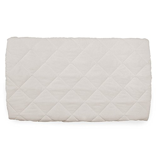 Hauck Bed me Reisebetteinlage, beige, weiß, 80 x 50 cm