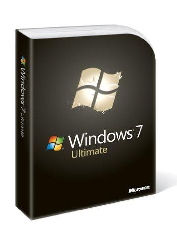 Microsoft  Windows 7 Ultimate, DVD,Inglese, Full version