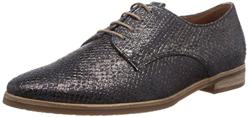 Gabor Shoes Gabor, Scarpe Derby con lacci donna, Nero (Schwarz (schw.(Sohle hell))), 40.5