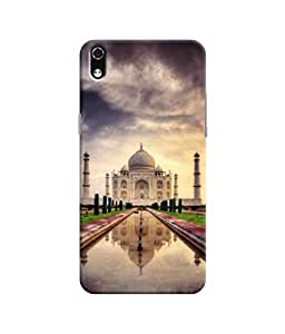Sketchfab Tajmahal a Good Architecture Latest Design High Quality Printed Designer Back Case Cover For LYF Water 8