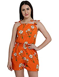 0f2a65111650 Amazon.in  Oranges - Jumpsuits   Dresses   Jumpsuits  Clothing ...