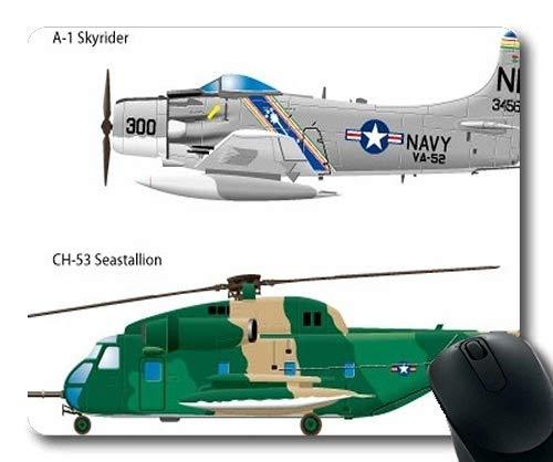 Militärflugzeug Bilder frei, Mauspad, Jagdpilot Kostüm, Mauspad mit genähten Kanten