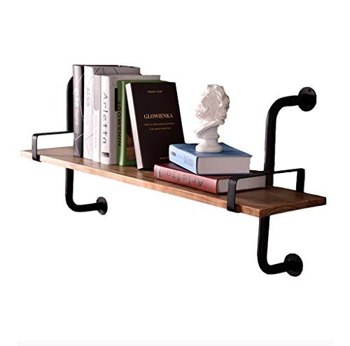 Regal im Wohnzimmer Schlafzimmer Küche Wandregal Metall Eisen Holz für Bar LOFT Wandbehang Cube...