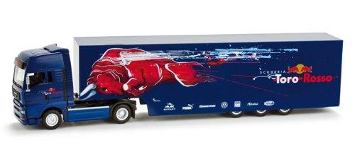 "158572MAN TGA XXL Renntransporter-Sattelzug ""Scuderia Toro Rosso"""