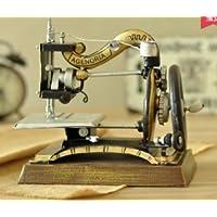 Vintage Decoración Retro Annata Vecchio-ed Coser máquina Vino Governo Ropa Almacenamiento de Escena Creativa