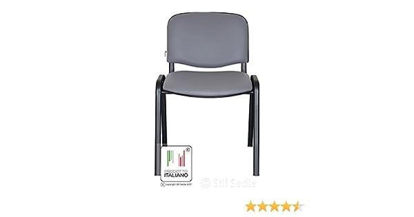Stil sedie sedia attesa ufficio sala conferenze in metallo e