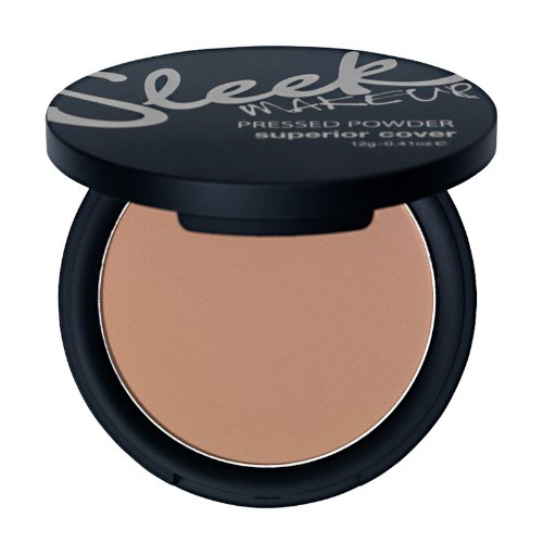 Sleek MakeUp – Superior Cover Pressed Powder – Poudre styptique (pressée de masquage) – N ° 468 – Biscuit