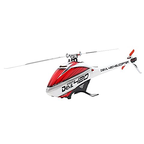 Goolsky ALZRC Devil 420 FAST Flybarless Belt Drive 6CH 3D Helicopter Standard Combo Set with Motor