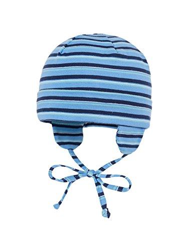MAXIMO 65500–333100Pot Bonnet Jersey Bonnet été pour Bleu/geringelt UPF 50+ Multicolore Taille 43–51 Bleu - Multicolore