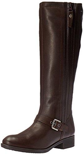 Geox Damen D Felicity Abx B Stivali Da Combattimento Braun (coffeec6009)