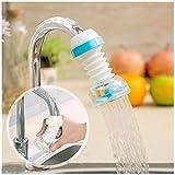 GROS Adjustable Splash-Proof Sprinkler 360 Degree Rotatable Faucet Sprayers Tap for Bathroom Wash
