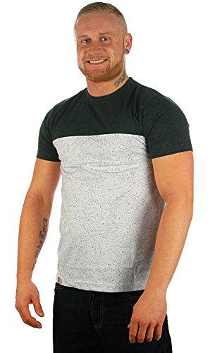 Wemoto T-Shirt SHORTY TEE white nep black nep white nep black nep