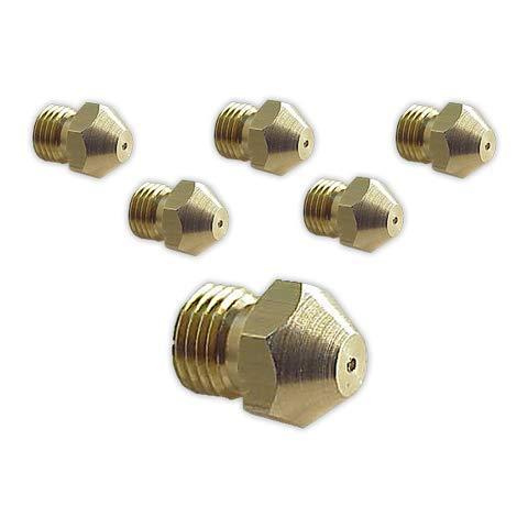 DOJA Industrial | Inyectores Cocina M-7 [kit 6] | Gas Butano Gas...