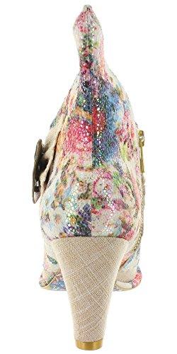 Irregular Choice  Miaow, Escarpins femme Multicolore