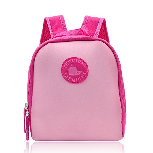 Termichy Kinderrucksack Babyrucksack fur Amazon Fire HD 8 Kids Edition-Tablet und kopfhörer, Kindergartenrucksack Toddler backpack für 1-6 Jahre Mädchen Kleinkind (Rosa) (Amazon Fire Tablet Tasche Für Mädchen)