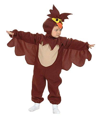 Eule Schnee Kostüm - Bristol Novelty Eule Kostüm für Kleinkinder