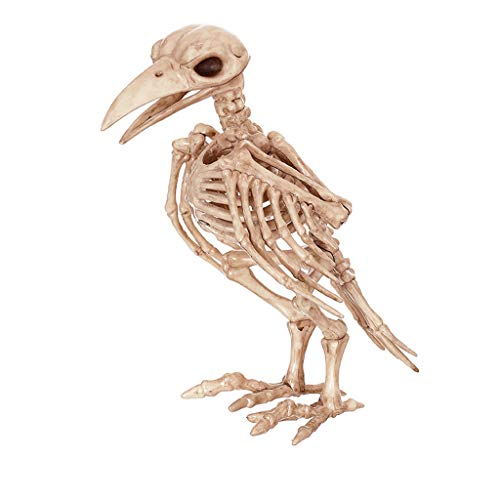 QAR Wütende Raven Spuk Haus Tier Skelett Horror Bar Film Requisiten Halloween Ornamente Halloween