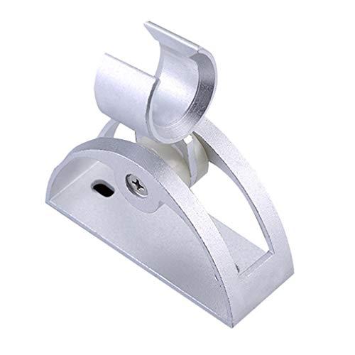 Managayle Espace Aluminium Duschsockel Duschhalterung Duschhaken Aluminium Sitz Untere Basis Dusche selbstklebend verstärkt -