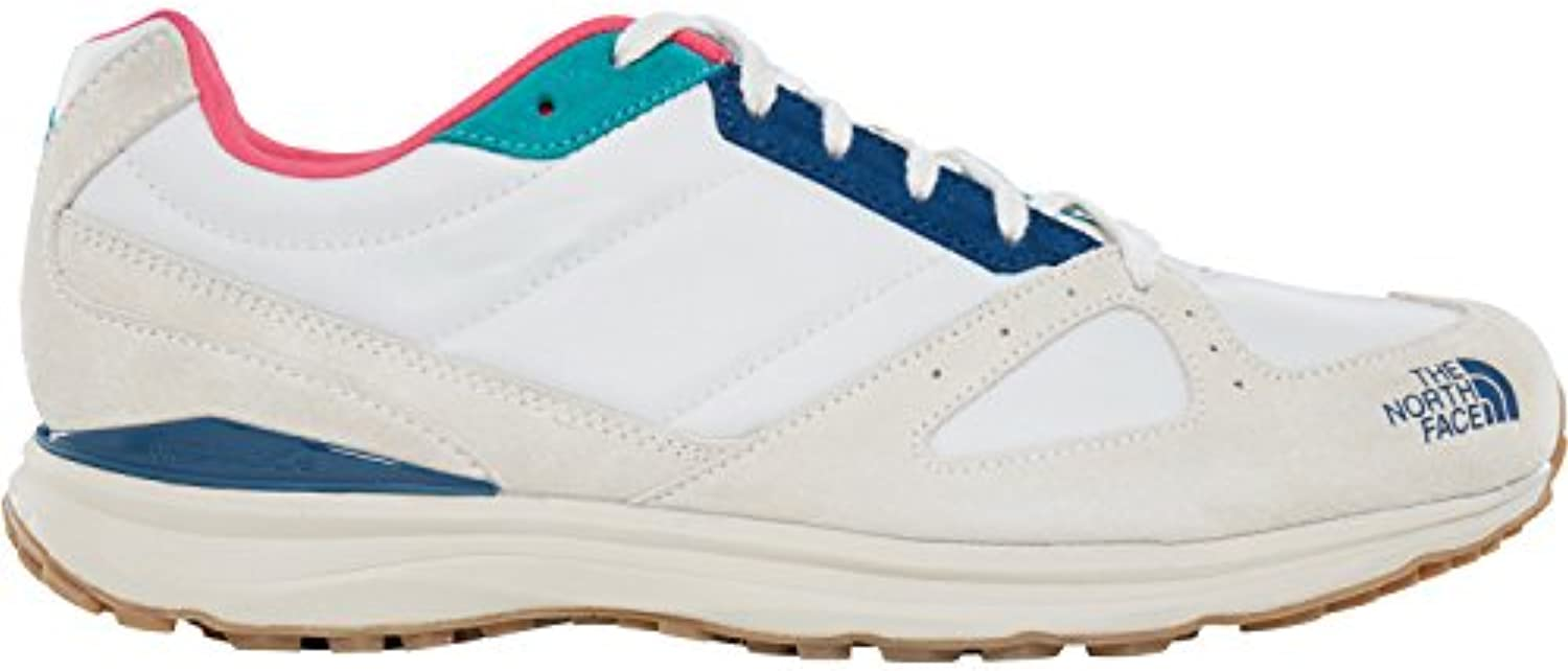 face nord traverse tr nylon blanche bleu aile blanche nylon chaussures uk 4.5 vintage. eb6f8f