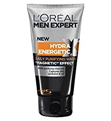 Loreal men expert hydra energetic charcoal cleanser, 50ml