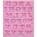 [Siempre jardin] personaje claesico alfabeto las letras de molde de silicio / jaboen hecho