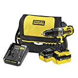 Stanley FatMax FMC625M2S-QW Kit? perceuse visseuse à percussion 18 V FCM625 + 2 batteries 4,0 Ah + chargeur 6 ampères + sac de transport