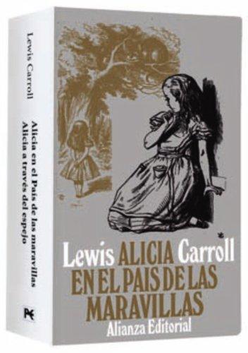 Estuche - Lewis Carroll: Alicia en el País de las Maravillas - Alicia a través del espejo (El Libro De Bolsillo - Estuches)