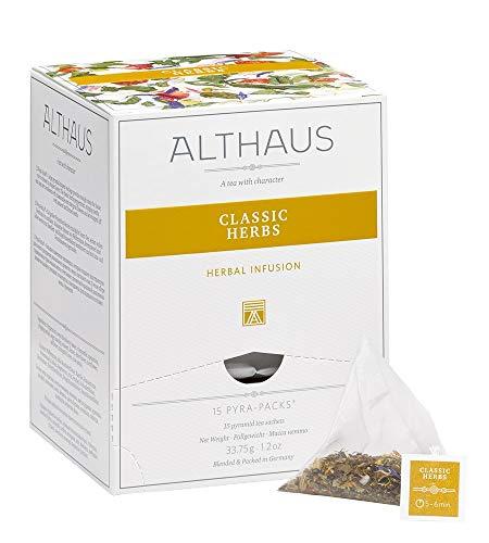 Althaus Pyra Pack Classic Herbs 15 x 2,25g · Kräutertee im Pyramidenbeutel