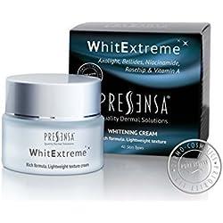 WhitExtreme, CREMA ACLARANTE, para las manchas producidas por la edad. Tratamiento para la piel dañada por el sol y arrugas. 50 ml