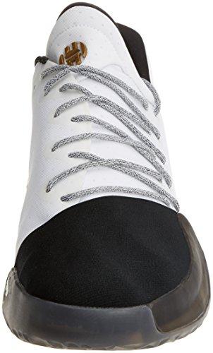 adidas Herren Harden VOL. 1 Basketballschuhe Weiß(Ftwbla/negbas/dormet) 522/3
