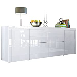 sideboard chest of drawers la paz v2 carcass in white. Black Bedroom Furniture Sets. Home Design Ideas