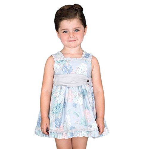 5a3086a7e DOLCE PETIT - Vestido NIÑA niñas Color: Azul Talla: 8