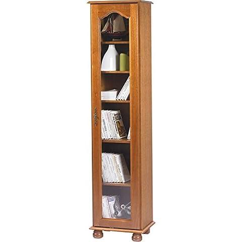 Schöne Möbel nicht lieben-Bibliothek, 1 große Glastür,