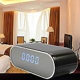 Z10 Mini Kamera Uhr Alarm IR Nachtsicht Bewegungserkennung WiFi IP Cam (Farbe: schwarz)