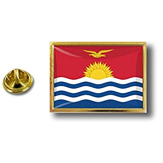 Akacha pin flaggenpin Flaggen Button pins anstecker Anstecknadel sammler Kiribati