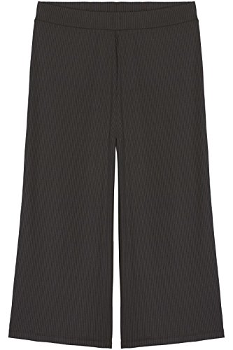 FIND Women's Ribbed Jersey Cropped Trousers