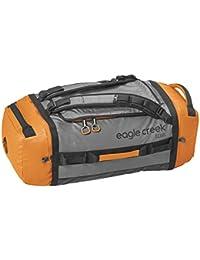 Eagle Creek Wasserabweisender Backpacker Cargo Hauler Duffel ultraleichte Reisetasche mit Rucksacktagegurte, 60 L, Orange/Grau
