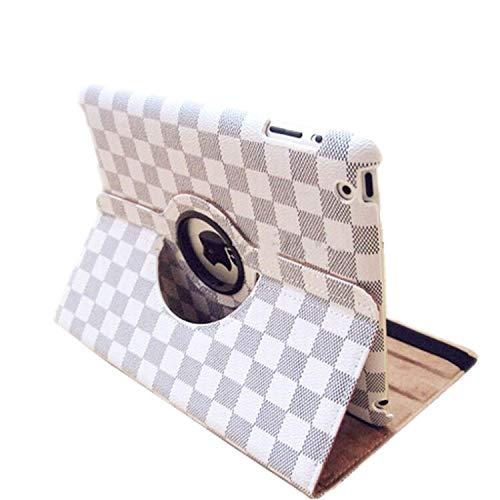 Schutzhülle für iPad Mini 5 (7,9 Zoll / 20,32 cm, 360 ° drehbar, Standfunktion, Standfunktion, Standfunktion, Standfunktion, automatischer Schlaf- / Wachmodus) weiß weiß