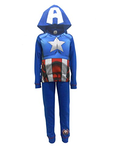 Kostüm Arme Hulk (Marvel Captain America Jungen Schlafanzug 2-3)