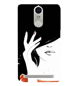 Excellent Girl Design 3D Hard Polycarbonate Designer Back Case Cover for Lenovo Vibe K5 Note